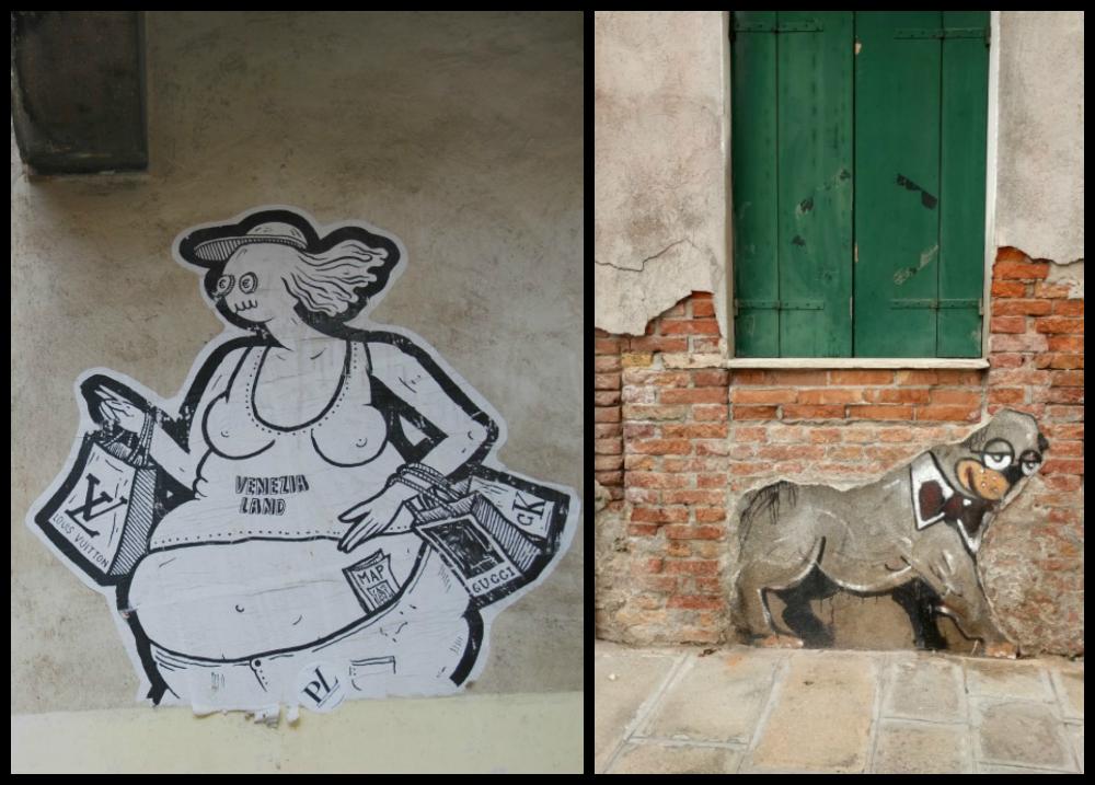 2016 Italy Venice Street Art Graffiti Venezia Land Tourist