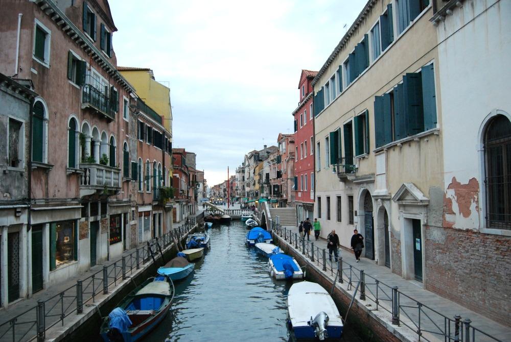 2016 Italy Venice Via Garibaldi Canal Boats