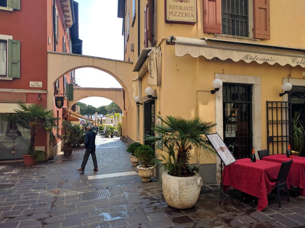 Italy Desanzano del Garda Old Town