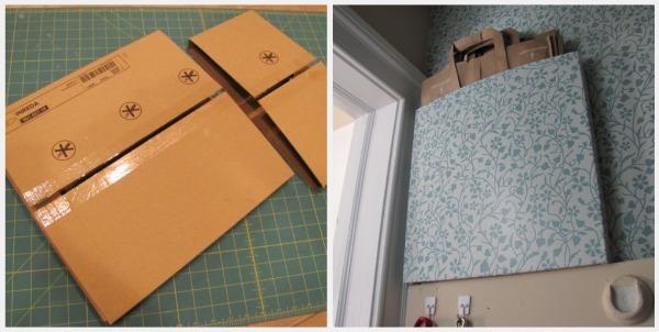 Coat Closet Paper Bag Holder The Borrowed Abodethe Abode
