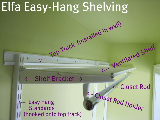 closet maid shelving ideas - Dressing Room Closet Makeover aka Elfa vs ClosetMaid